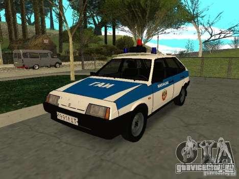 ВАЗ 2109 Милиция для GTA San Andreas