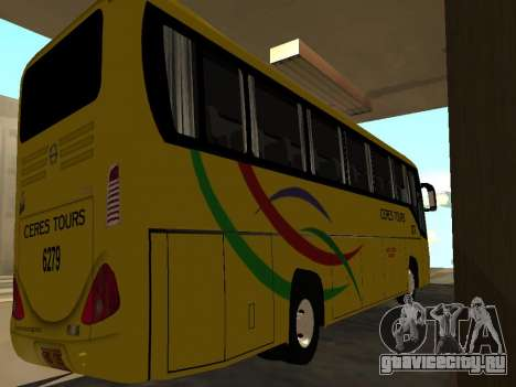 Yanson Viking - CERES TOURS 6279 для GTA San Andreas вид сзади слева