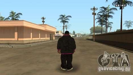 Skin Pack Ballas для GTA San Andreas шестой скриншот