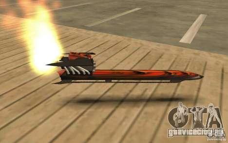 Hoverboard для GTA San Andreas вид слева
