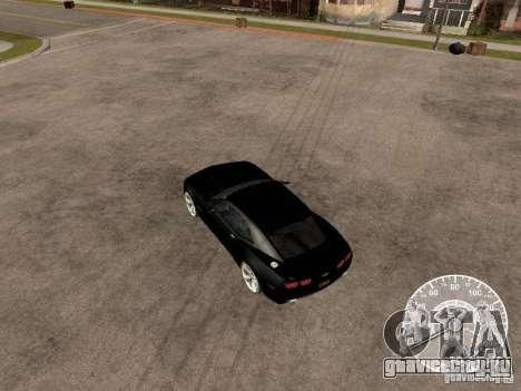 Chevrolet Camaro Concept для GTA San Andreas вид справа