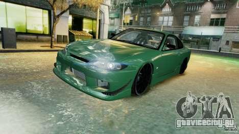 Nissan Silvia S15 для GTA 4 вид снизу