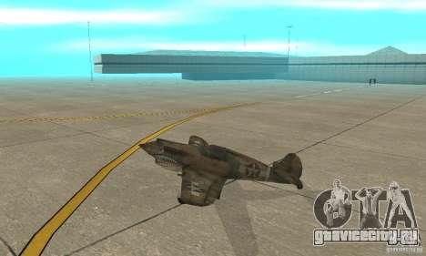 P-35 для GTA San Andreas вид сзади слева