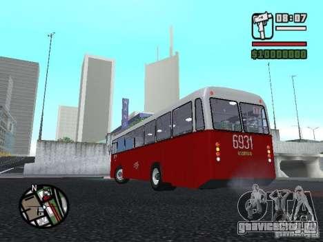 Ikarus Ik4 для GTA San Andreas вид справа