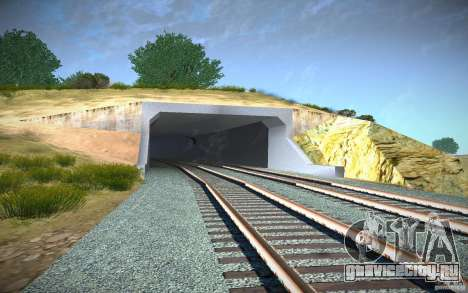 HD Red Bridge для GTA San Andreas седьмой скриншот