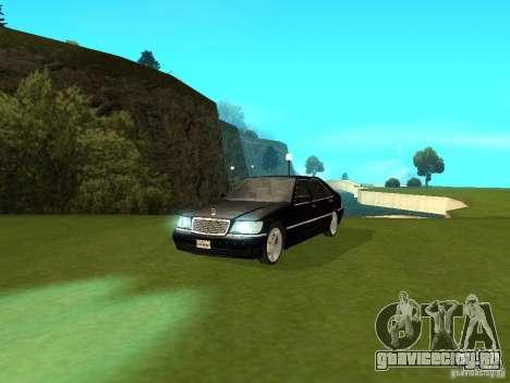 Mercedes-Benz 600 W140 для GTA San Andreas вид справа