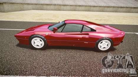 Ferrari 288 GTO для GTA 4 вид изнутри
