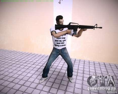 Новая М4 для GTA Vice City