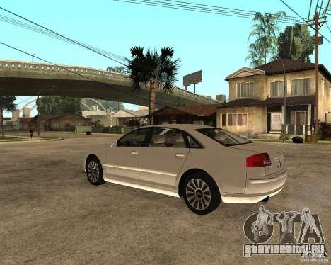 Audi A8 2003 для GTA San Andreas вид слева