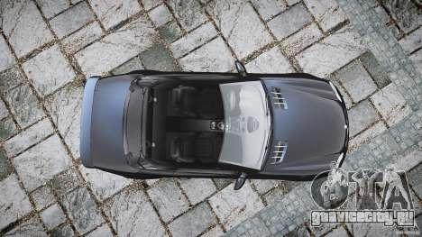 Mercedes Benz SL65 AMG для GTA 4 вид справа