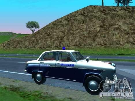Москвич 403 С Милиция для GTA San Andreas вид сверху
