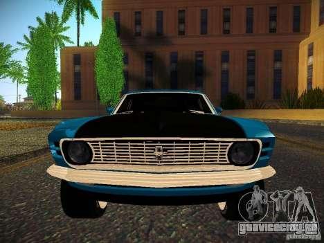 Ford Mustang Boss 429 1970 для GTA San Andreas вид справа