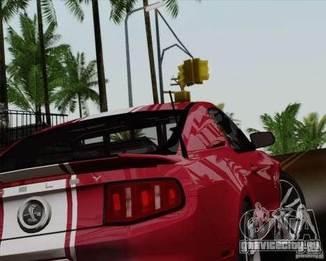 Ford Shelby GT500 Super Snake 2011 для GTA San Andreas вид слева