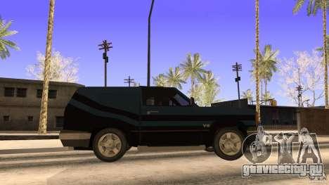 Sandking EX V8 Turbo для GTA San Andreas вид сзади слева