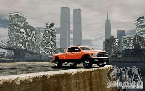 Dodge Ram 3500 Stock Final для GTA 4 вид сбоку