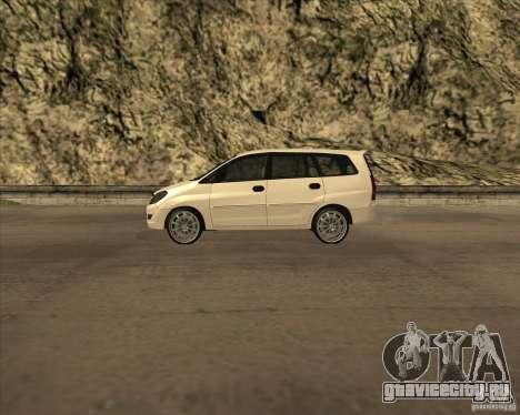 Toyota Innova для GTA San Andreas вид слева