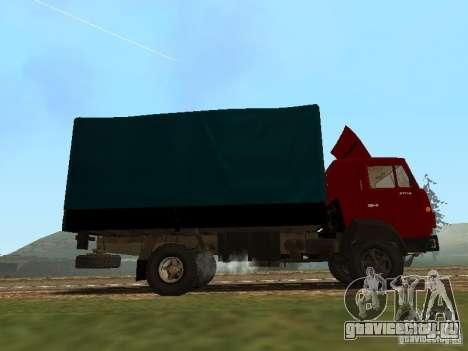 КамАЗ 5325 для GTA San Andreas вид слева