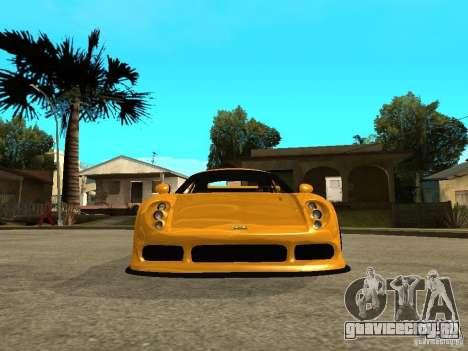 Noble M12 GTO Beta для GTA San Andreas вид справа