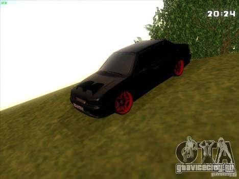 ВАЗ 2115 Devil Tuning для GTA San Andreas вид сзади