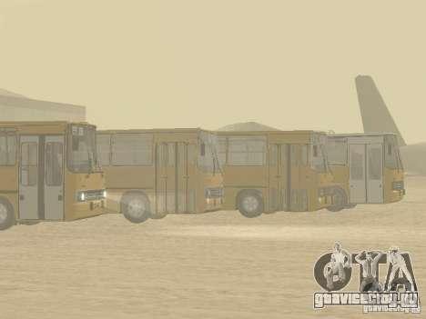 Икарус 280.33 для GTA San Andreas вид сбоку