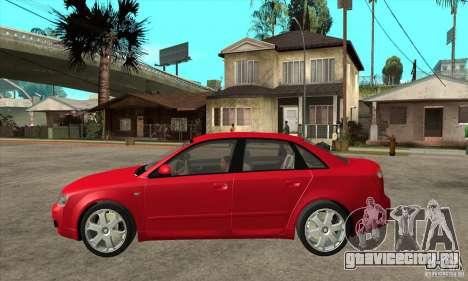 Audi S4 2004 для GTA San Andreas вид слева