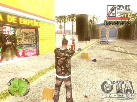 Wild Wild West для GTA San Andreas девятый скриншот