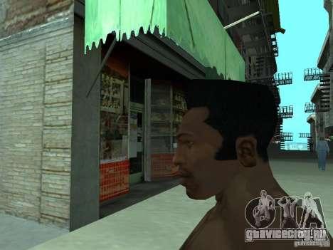 НОВОЕ ЛИЦО CJ для GTA San Andreas шестой скриншот