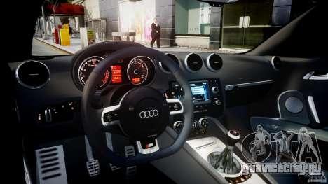 Audi TT RS Coupe v1.0 для GTA 4 вид справа