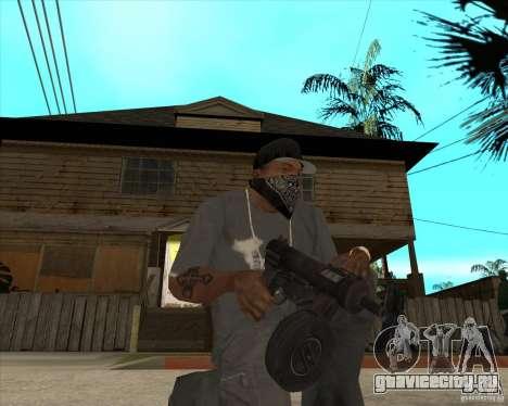 Пак оружия из Fallout New Vegas для GTA San Andreas