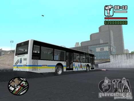 Onibus для GTA San Andreas вид изнутри
