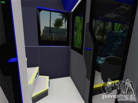 Marcopolo Paradiso 1800 DD Navette XL Coomotor для GTA San Andreas колёса