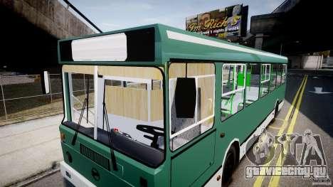 ЛиАЗ 5256 для GTA 4 салон