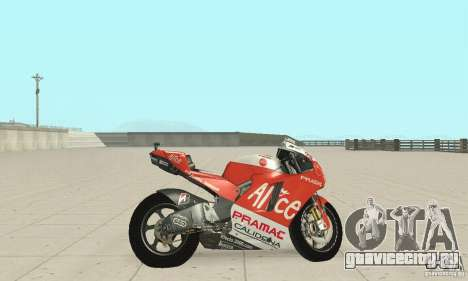 Ducati Alice GP для GTA San Andreas вид сзади слева