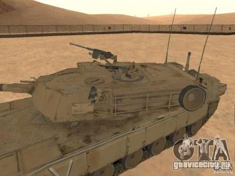 Abrams M1A2 для GTA San Andreas вид справа