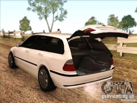 BMW M3 E46 Touring для GTA San Andreas вид сбоку
