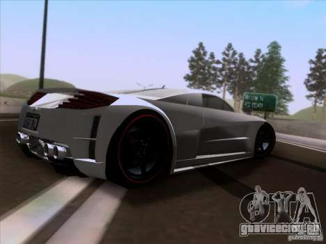 Chrysler ME Four-Twelve для GTA San Andreas вид справа