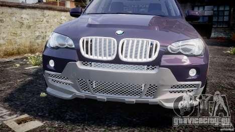BMW X5 xDrive 4.8i 2009 v1.1 для GTA 4 вид изнутри
