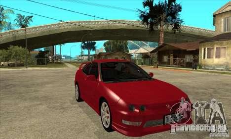 Acura Integra Type-R - Stock для GTA San Andreas вид сзади