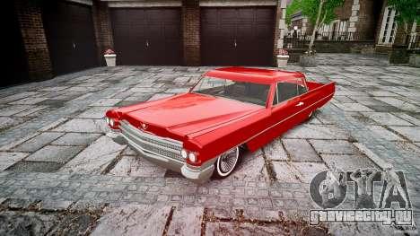 Cadillac De Ville v2 для GTA 4
