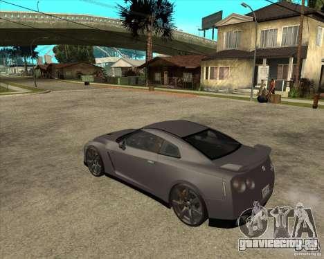 2008 Nissan GTR R35 для GTA San Andreas вид слева