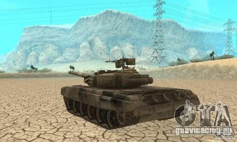 Танк Т-90 Владимир для GTA San Andreas вид справа