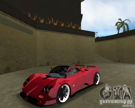 Pagani Zonda S для GTA Vice City