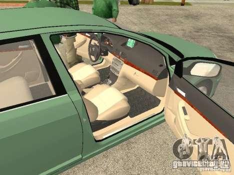 Toyota Avensis V2.0 для GTA San Andreas вид сзади