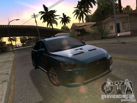 IG ENBSeries v2.0 для GTA San Andreas девятый скриншот