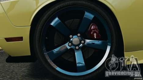 Dodge Rampage Challenger 2011 v1.0 для GTA 4 вид сзади