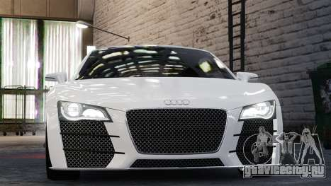 Audi R8 LeMans для GTA 4