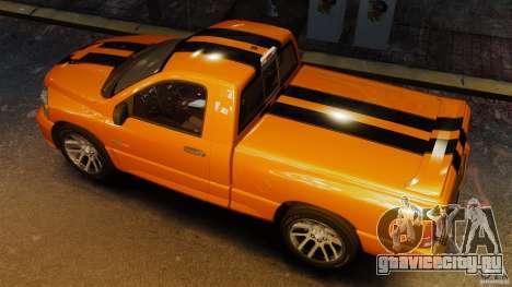 Dodge Ram SRT-10 2006 EPM для GTA 4 вид справа