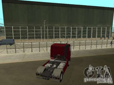 Mercedes Actros Tracteur 3241 для GTA San Andreas вид сзади слева