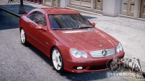 Mercedes-Benz CLK 63 AMG 2005 для GTA 4 вид сбоку