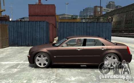 Chrysler 300C для GTA 4 вид слева